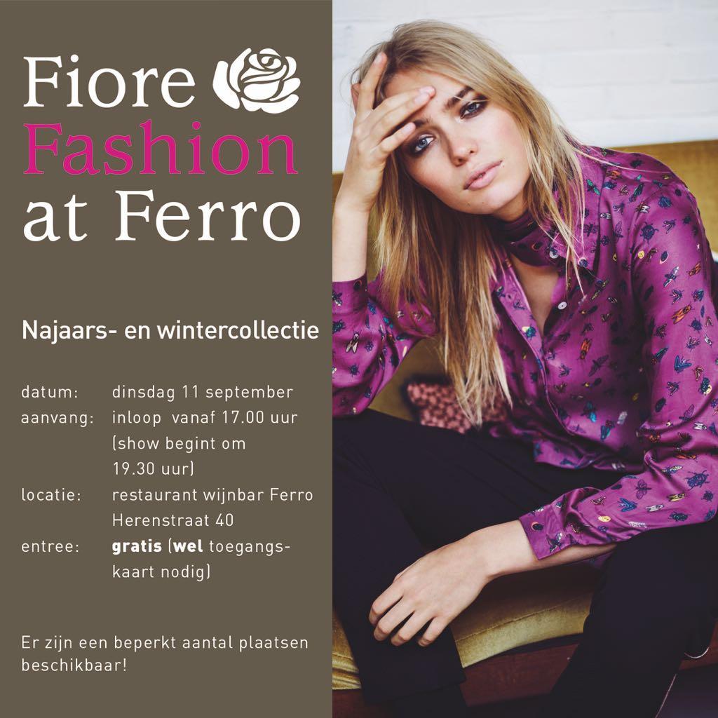 Besloten feest! Fiore Fashion at FERRO